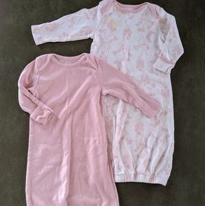 0-3 Month Old Navy Sleep Gowns